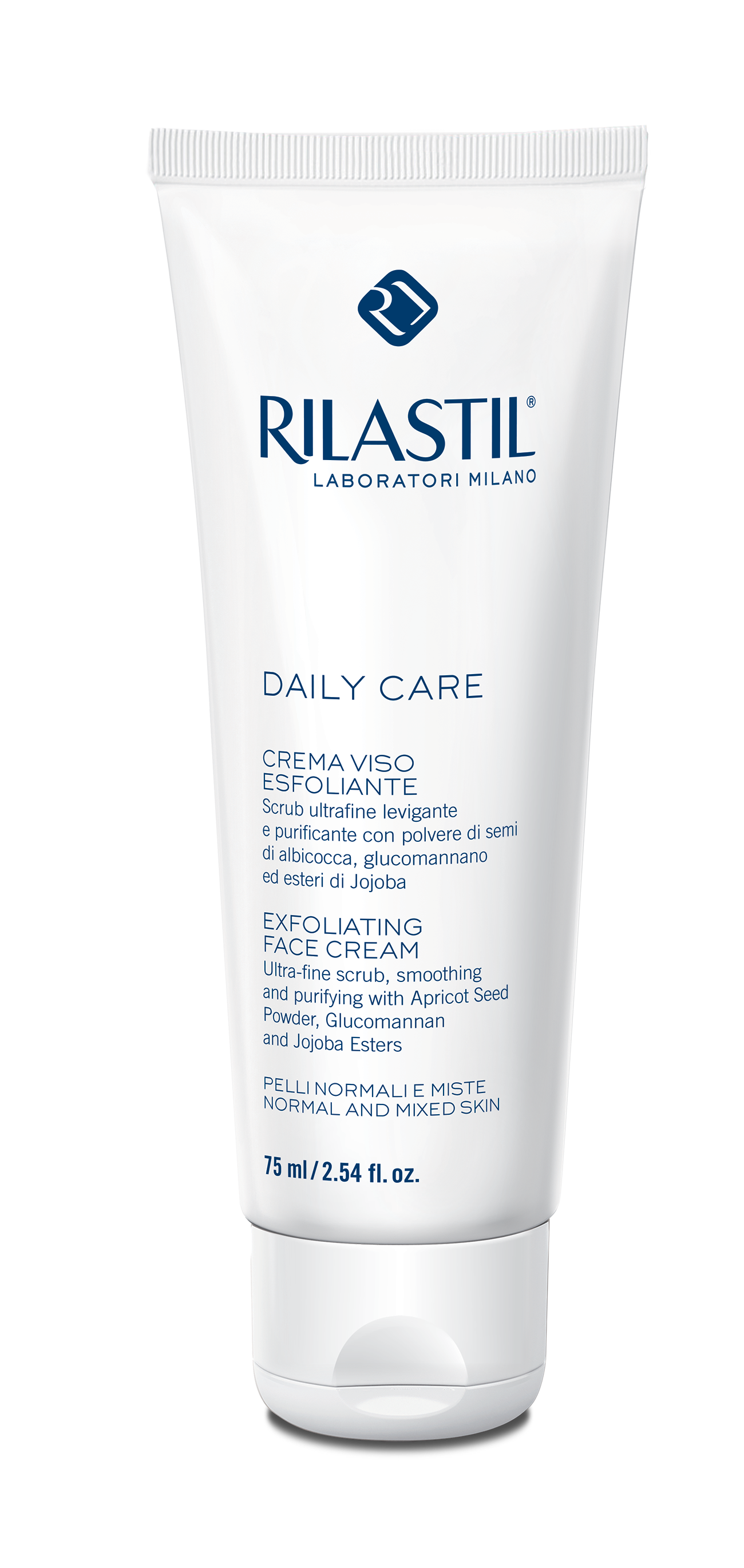 картинка RILASTIL DAILY CARE EXFOLIATING FACE CREAM от магазина Rilastil-russia
